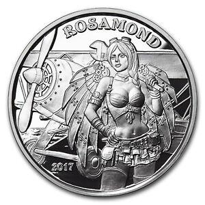 1 oz Silver Proof Round - Angels & Demons Series (Rosamond) - SKU#155145