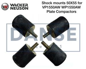 Wacker-Rubber-Shock-Mount-Set-of-4-WP1550-WP1540-Plate-Compactor-5000130000