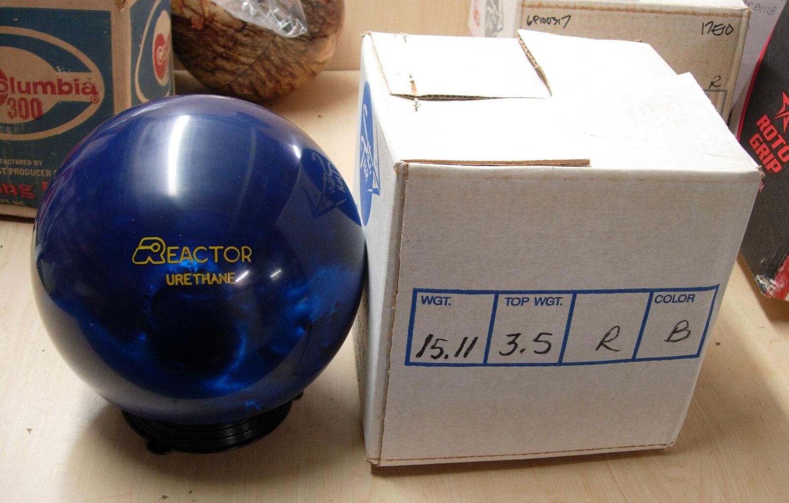 15.11, TW 3.5 1987 Star Trak REACTOR Urethane blueE Pearl, Ravenna Solon, Ohio
