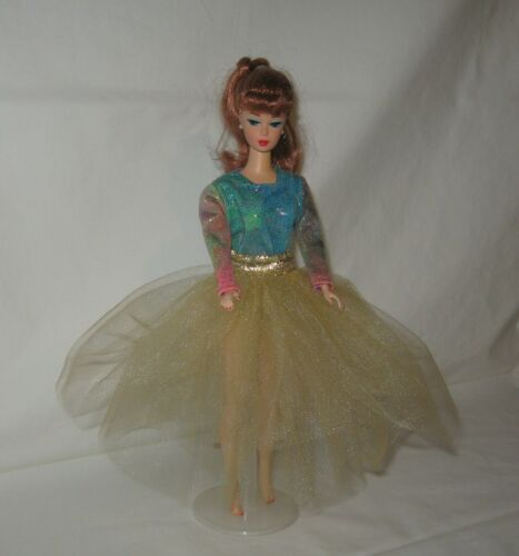 "Handmade Gold TuTu with Multi Colored Oil Slick Top Dress FOR 11 1//2/"" Doll"
