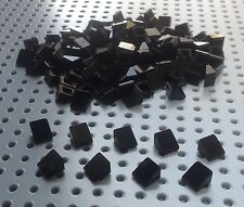 Lego Black 1x1 2/3 Slope Brick Cheese Wedge (54200) x50 in a set *BRAND NEW*