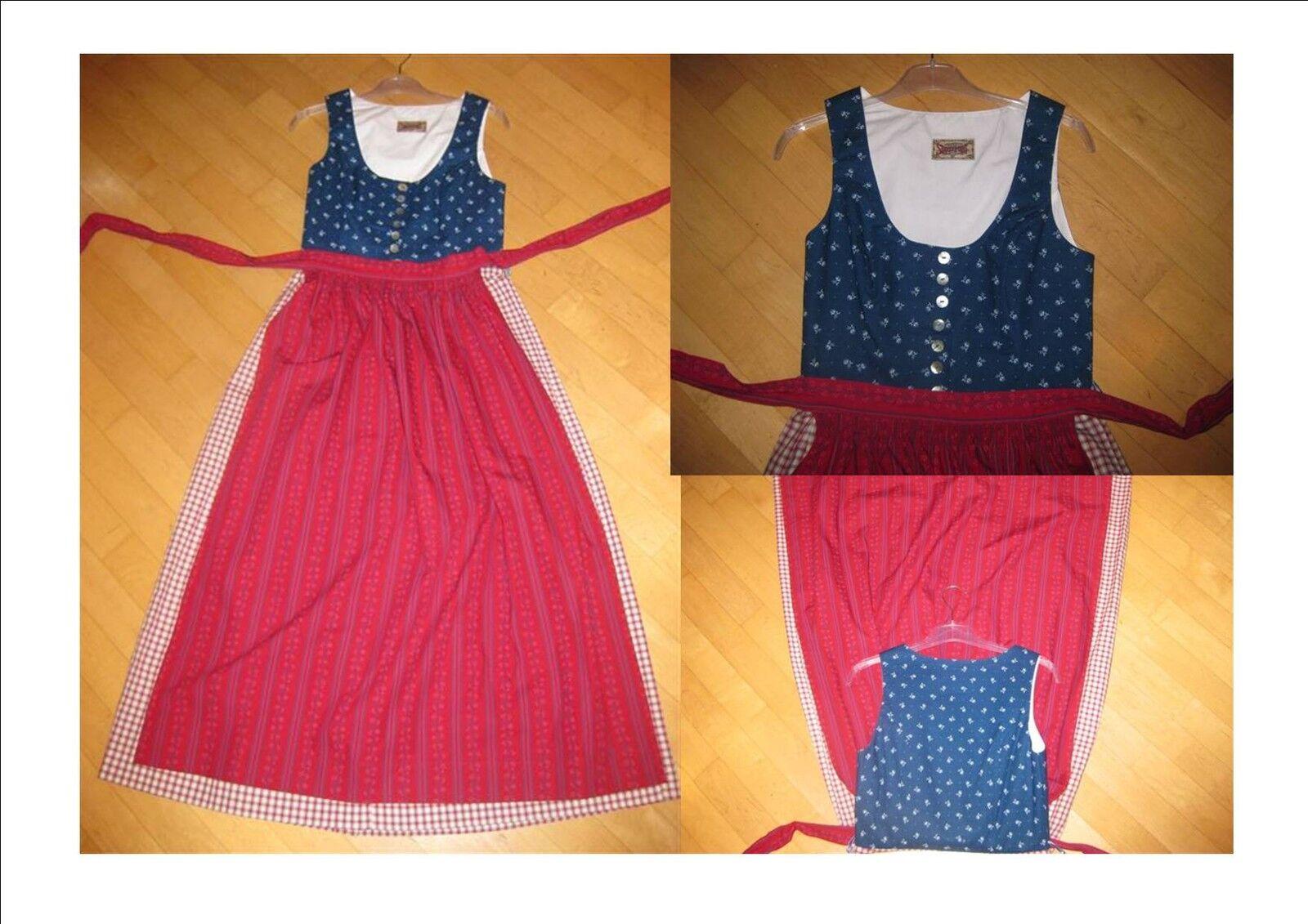 Traum Dirndl in  blau blau blau rot Gr.40  NEU   Outlet Store Online    Ausgezeichnetes Preis    Discount  621e14