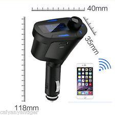 Car USB Radio SD Card Slot MP3 Player Music Wireless FM Transmitters kit +Remote