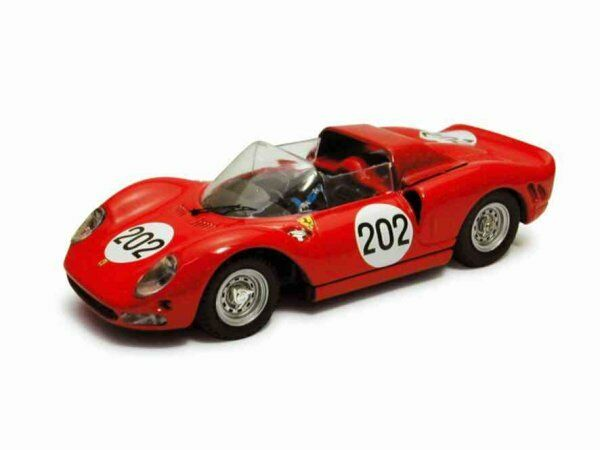 Ferrari 275 P  2  202 Retirouge Targa Florio 1965 Parkes   Svoiturefiotti 1 43 Model  marque célèbre