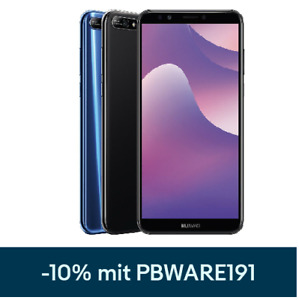 "Huawei Y7 2018 DualSim 16GB LTE Android Smartphone 6"" Display 13 Megapixel"