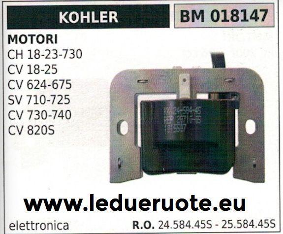 2458445S 2558445S BOBINA ELETTRONICA MOTORE KOHLER SV 710 725 CV 730 740 820S
