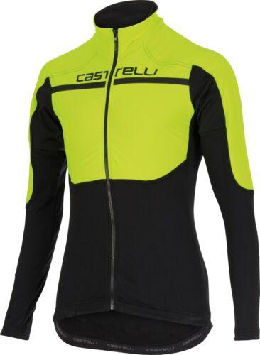FREE Shipping Hi Viz NEW Castelli Secondo Strato Long Sleeve Jersey