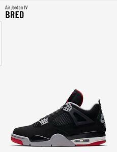 Nike Air Jordan 4 Bred UK8 Pre-Order | eBay