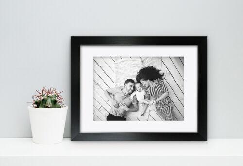Photo Picture Frame Poster Black Modern Box Deep A6 A5 A4 A3 A2
