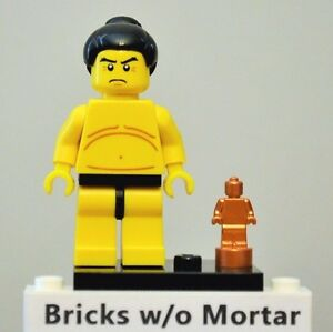 New Genuine LEGO Sumo Wrestler Minifig with Trophy Series 3 8803 ... eb5620213ba