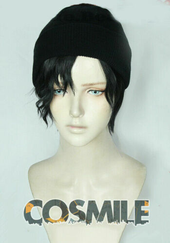 Detective Conan Akai Shuuichi Rye Cosplay Hair Wig Gorro Hat Anime LHZ Sa