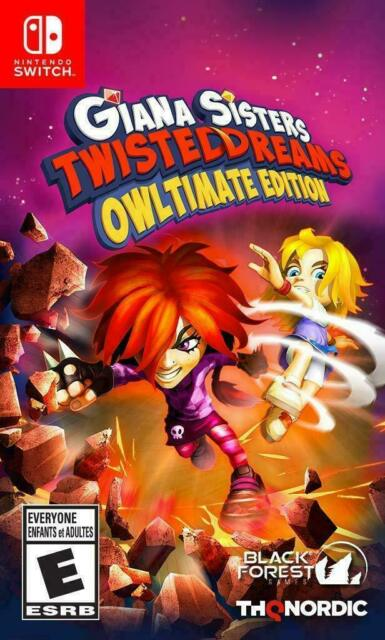 Giana Sisters : Twisted Dreams Owltimate Edition (Nintendo Switch, 2018) New
