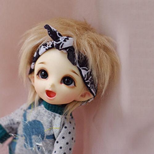 wamami Flax//Ligh Brown Short Wool Wig 1//8 PUKIFEE AE LATI BJD Dollfie 14cm