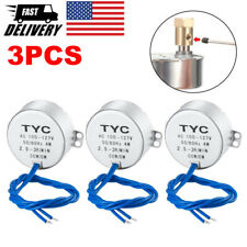 3 Pcs Electric Synchron Motor Turntable Synchronous Motor Cup Turner Cuptisserie