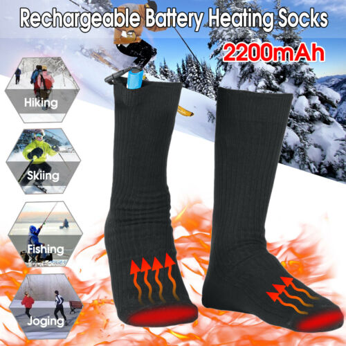 Artemis Double-layer Rechargeable Battery Electric Heating Sock Foot Heated