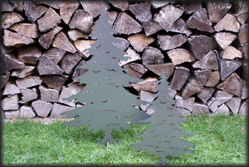 Windlicht 45 cm 3272100-groß elegante Holz Laterne mit Dach aus Edelstahl