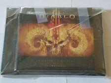 Diablo III 3 Collectors Edition Soundtrack OST CD Behind the Scenes DVD New CIB