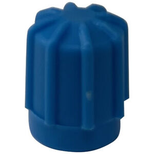 (10) Supercool A/C Service Valve Cap Low Side Aeroquip Style 13 MM - 8 x 1.0 mm