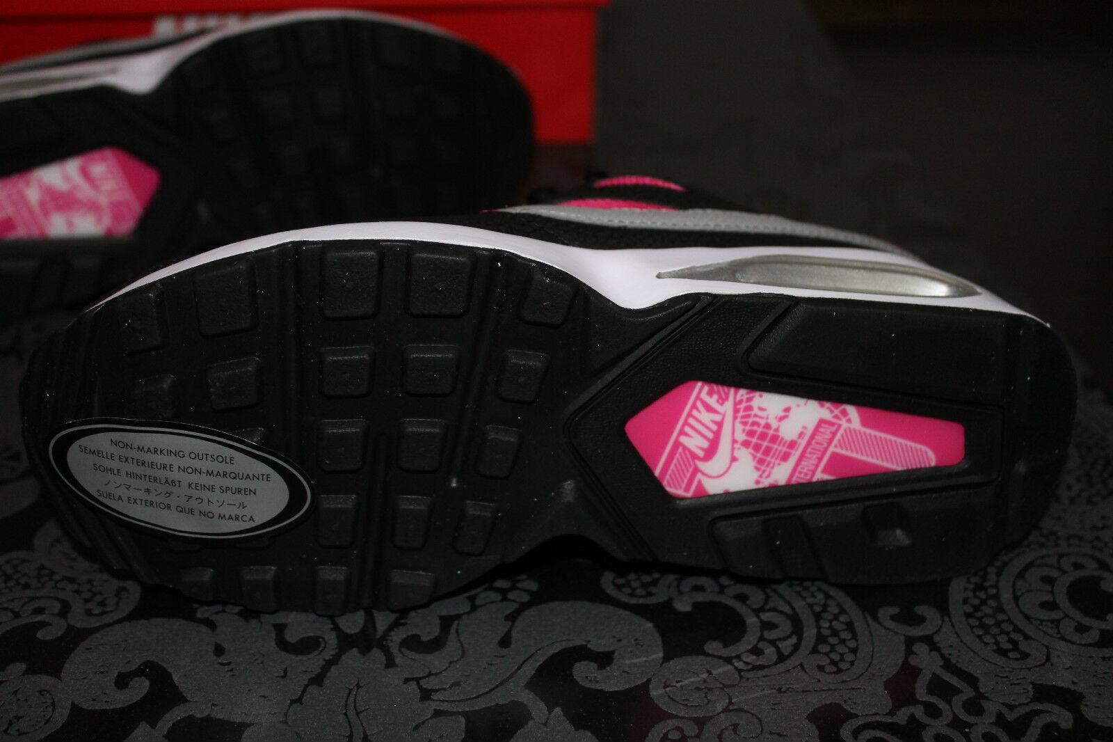 Nike Air Max FUCSIA Coliseum DONNA RUNNING SCARPE NERE FUCSIA Max TAGLIA 38 o 38,5 NUOVO 77579e