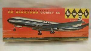 HAWK 1958 De Havilland Comet IV BOAC Airways Airplane Aircraft Model Kit 1:153