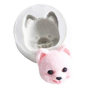Lovely Pomeranian Silicone Fondant Mold Candy Mold DIY Cake Decorating Mold