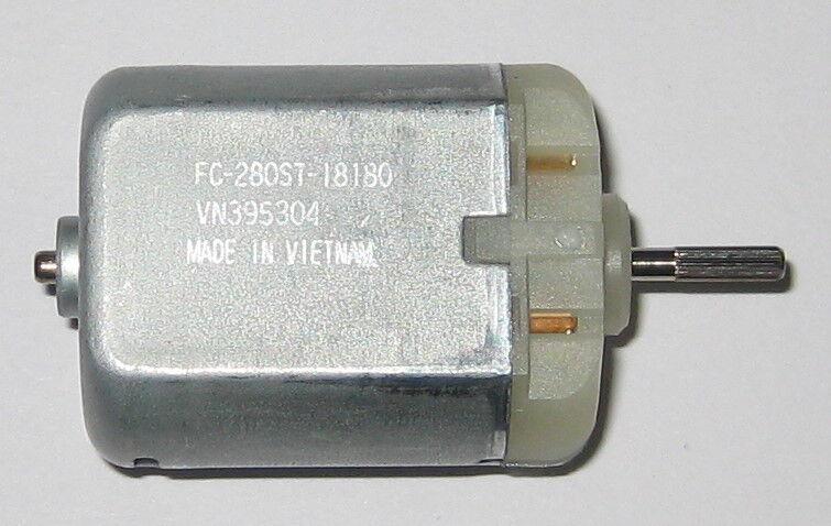 9840 RPM 280ST-18180 12 V 6 to 15 VDC 2 X Mabuchi FC-280 Auto DC Motor