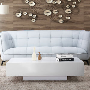 Image Is Loading 45 034 Modern High Gloss White Coffee Table