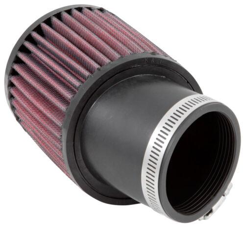 "RU-1750 K/&N Universal Rubber Air Filter 2-7//16/""20 DEG FLG KN Uni 3-3//4/""OD 4/""H"