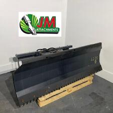 New 4 Way Skid Steer 48 Hydraulic Angle Dozer Plow Blade Attachment Dirt Snow