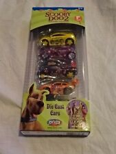 RARE NEW IN BOX SCOOBY DOO2 MONSTERS UNLEASHED DIE-CAST! SET OF 5!!  1:64 SCALE