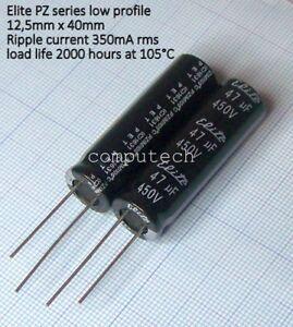 10 condensateurs tantale 1uF 35V Thomson LCC