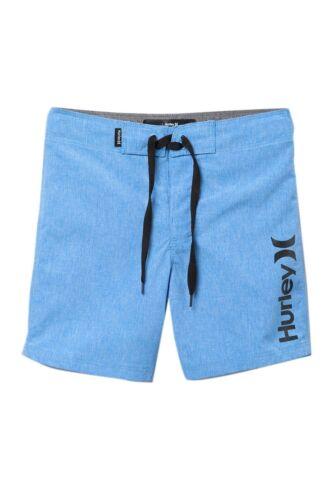 Hurley Boys 5 One /& Only Dri-Fit University Blue Adjustable Waist Board Shorts