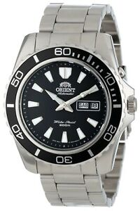 Orient-Men-039-s-039-Mako-XL-039-Japanese-Automatic-Stainless-Steel-Watch-FEM75001BW