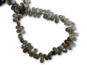 Natural-AAA-Labradorite-Faceted-Drop-Briolette-Blue-Fire-Gemstone-GDS1049-10
