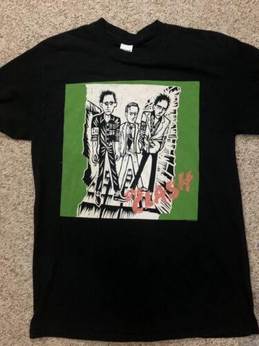 The Clash Concert Tour Rock Band T Shirt Black 20… - image 1