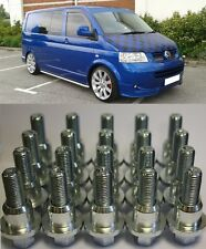 RANGE ROVER TO VW T5 SHUTTLE ALLOY WHEEL CONVERSION KIT 20 BOLTS 4 RINGS