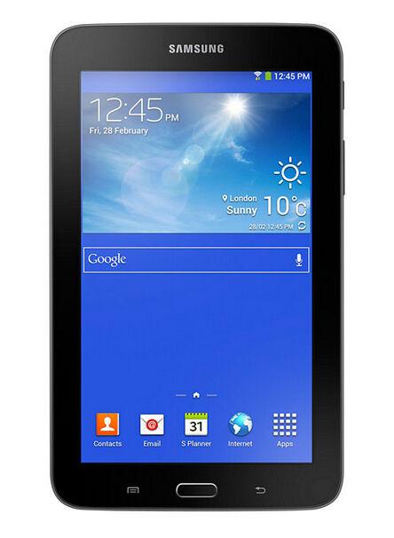 Samsung Galaxy Tab 3 Lite Sm T110 8gb Wi Fi 7in Dark Gray For Sale Online Ebay