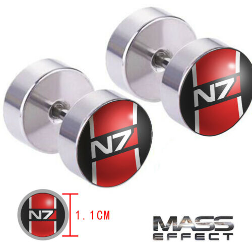 Game MASS EFFECT N7 Earrings One Pair