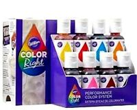 Wilton Color Right Performance Color System 8 Piece - Create Thousands Of Colors