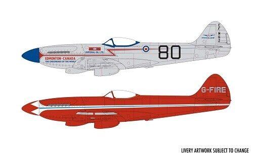 Neu Airfix A05139-1//48 Supermarine Spitfire MkXIV Race Schemes