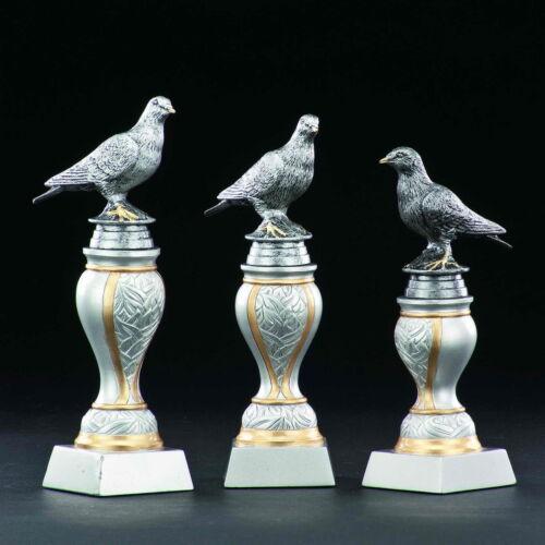 pigeon voyageur weitflug trophées médailles Colombe 2x3er série personnages #k235