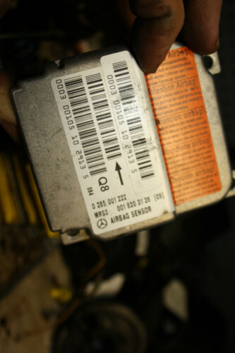 Airbagsteuergerät Steuergerät Sensor Airbag Mercedes A-Klasse W168 A 0018203126