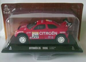 Paris-Dakar-CITROEN-ZX-1996-Lartigue-1-43-Norev