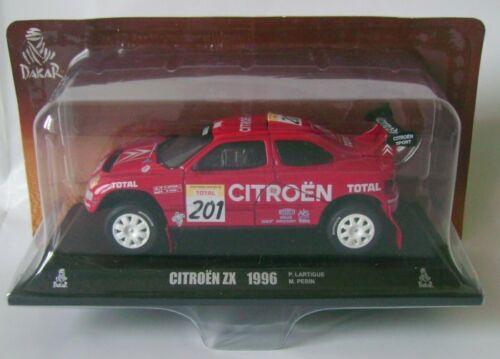 Paris//Dakar CITROEN ZX 1996 Lartigue 1//43 Norev