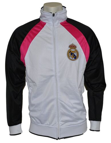 L Real Madrid Jacket Track White Homme New 2014-2015 Adult Sizes S,m,l,xl
