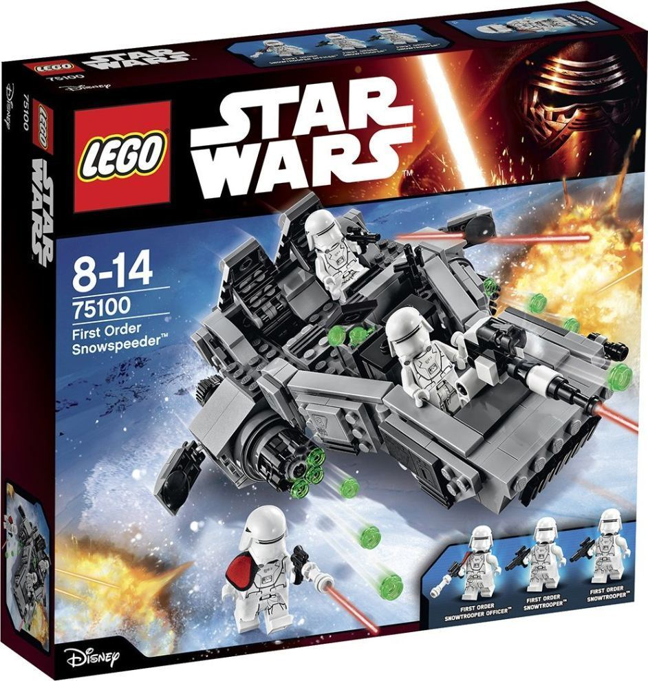 LEGO 75100 First Order Snowspeeder™ - STAR WARS 8-14anni
