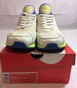 67d40e899129 Men s Rare Nike Air Max Terra 180 QS 11.5 Summit White Hot Lime Blue ...