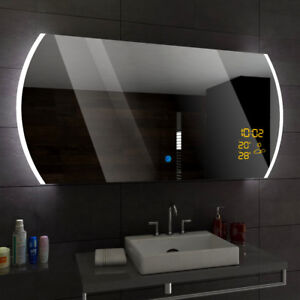 Baltimore Miroir Salle De Bain Lumineux Led Interrupteur