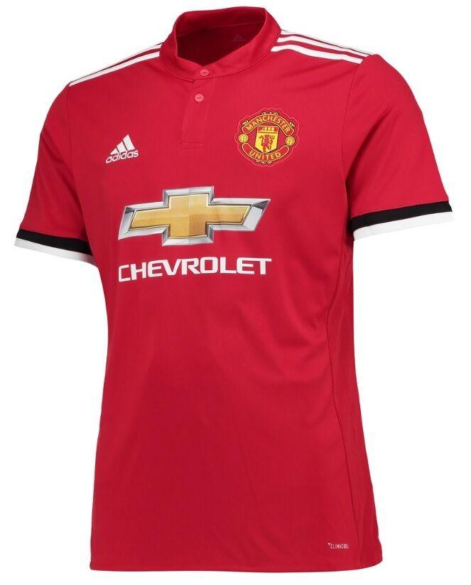 Trikot Adidas Manchester United 2017-2018 Home - Lukaku Lukaku Lukaku 9  ManU e77e63