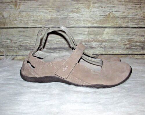 Mary Jane marrone Haley Sz pelle Taupe pelle Clarks mocassini M nabuk in 10 in Luna U7qwPZ